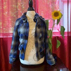 {F21} Plaid Jacket
